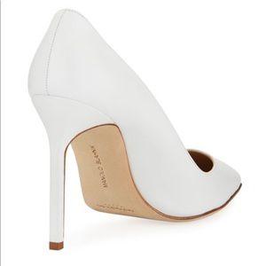 BRAND NEW Manolo Blahnik white pumps / heels 120mm